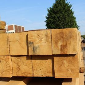 250 x 150 Green Structural Oak Beams