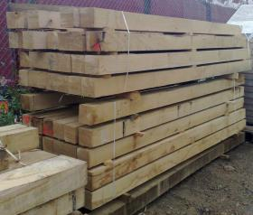 150 x 150 Green Structural Oak Beam