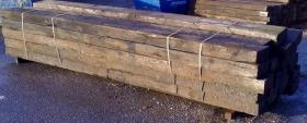 Reclaimed Oak Crossing Timbers