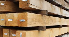 200 x 200 Air Dried Structural Oak Beams