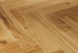 Mixed Grade Unfinished Oak Parquet Blocks