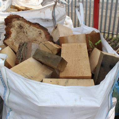 1 Cubic Metre Bag of Sawmill Offcuts