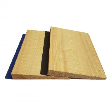 Siberian Larch Featheredge Cladding