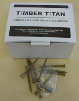 Timber Locking Decking Screws