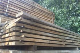 Air Dried Oak Featheredge Cladding