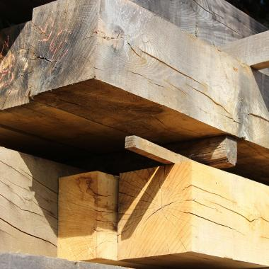 250 x 150 Air Dried Structural Oak Beams