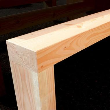 Additional Option - Wider Table Benches
