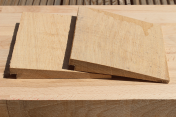 Rebated Oak Featheredge Cladding