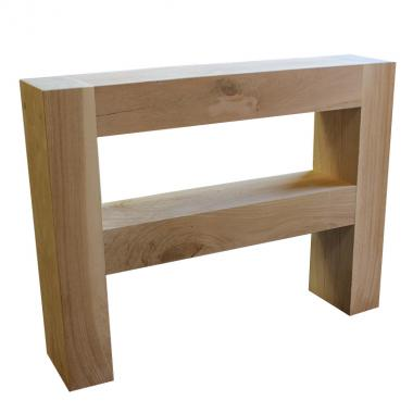 Solid Oak Hall and Console Table 1000mm x 950mm