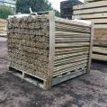 Rounded Oak Dowels 19mm
