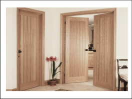 610mm x 1981mm Framed Door