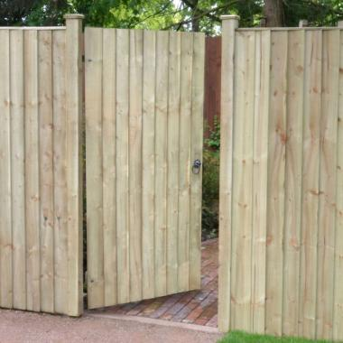 Treated Softwood Featheredge Gate