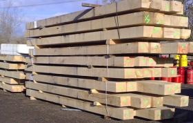 200 x 150 Green Structural Oak Beams
