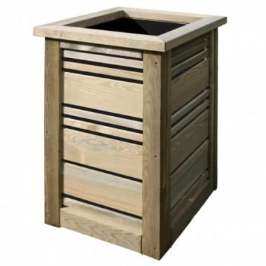 Green Treated Softwood Planter- Sicily