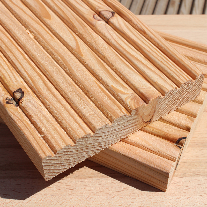 Decking boards buy untreated english larch decking for Timber decking for sale