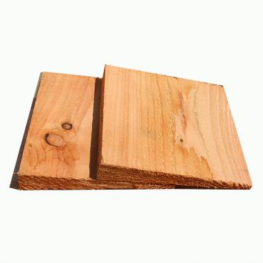 English Larch Featheredge Cladding Sample
