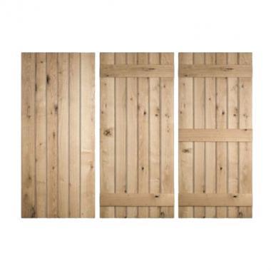 610mm x 1981mm Ledged Door