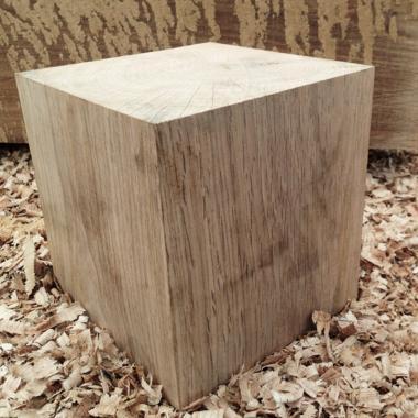 Solid Oak Cubes- Oak Beam Offcuts