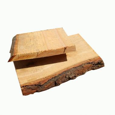 Fresh Cut Oak Waney Edged Boards