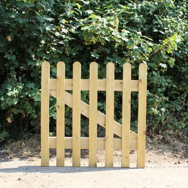 Treated Softwood Picket Gate