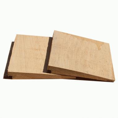 Rebated Oak Featheredge Cladding
