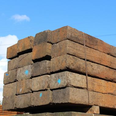 Untreated Reclaimed Tropical Azobe Hardwood