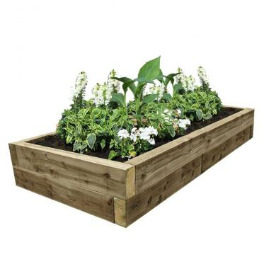 EasyFit Softwood Raised Bed 2525x1325
