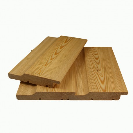Siberian Larch Channel Siding Cladding