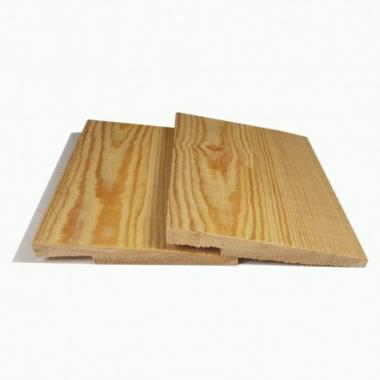 Siberian Larch Rebated Featheredge Cladding Sample