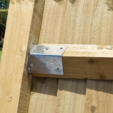 Treated Softwood Arris Rails
