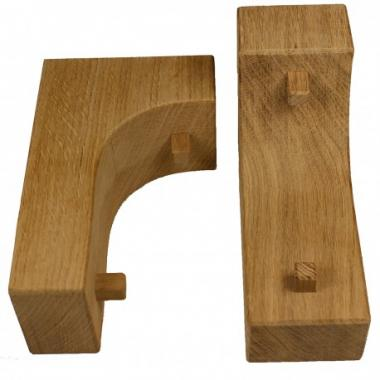 Solid Oak Corbels