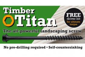 Tmber Titan Heavy Duty Wood Screws