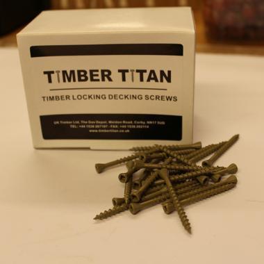 Timber Titan Locking Decking Screws