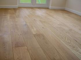 Character Grade Unfinished Solid American White Oak Flooring