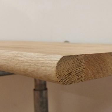 Solid Oak Window Sill Board - 125mm x 20mm