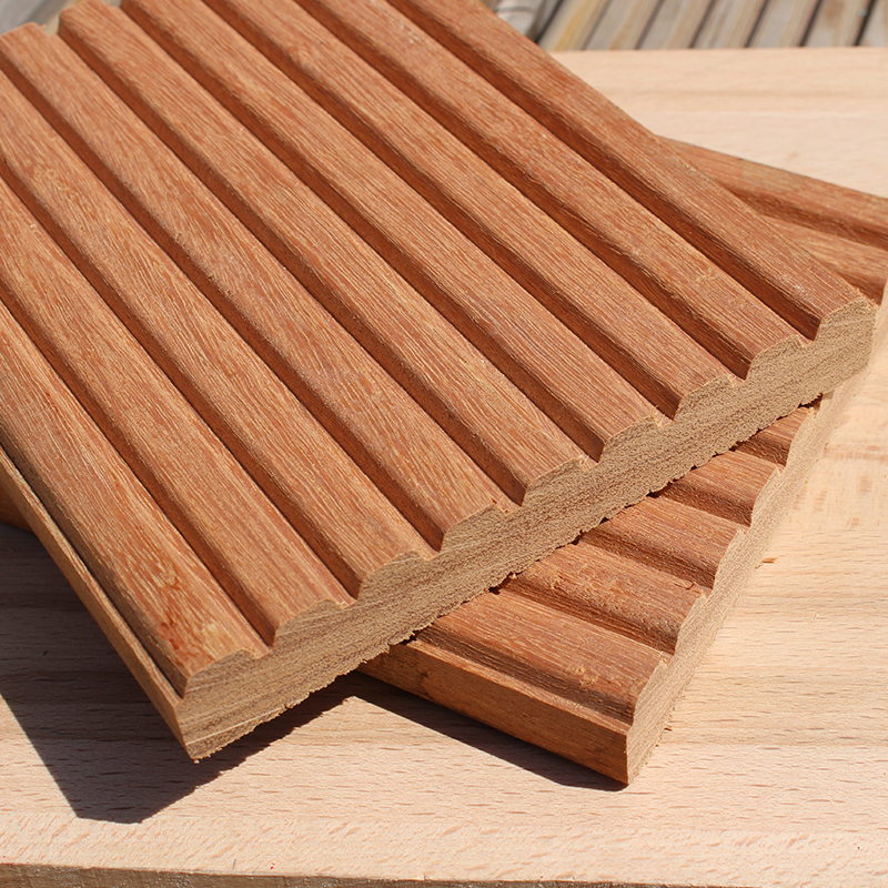 Yellow balau tropical hardwood decking buy decking for Smooth hardwood decking boards