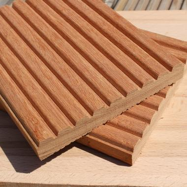 Yellow Balau Tropical Hardwood Decking Sample